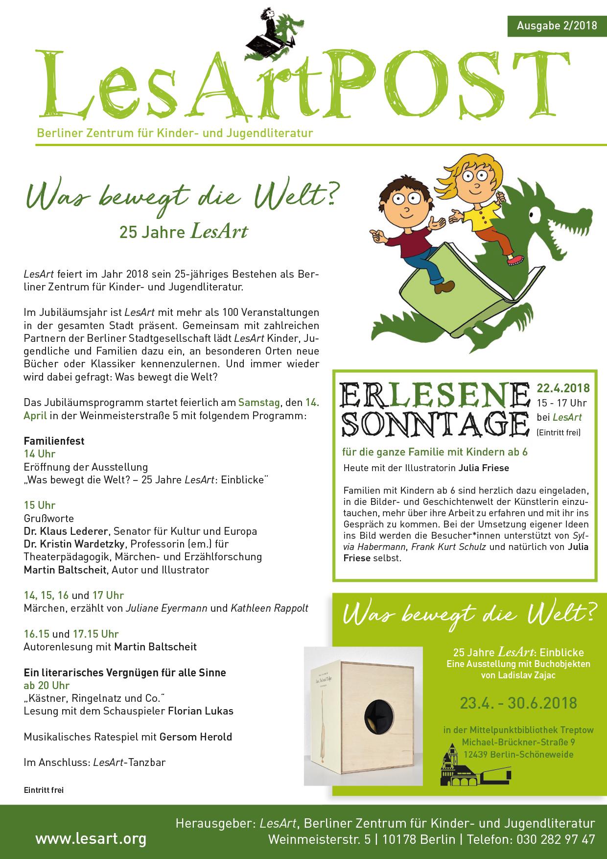Publikationen | LesArt - Berliner Zentrum für Kinder- und ...